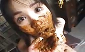 Japanese girl forced to eat poop