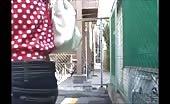 Japanese teen shitting in her panties